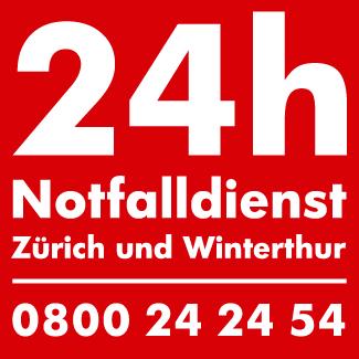 24h Schlüsselservice in Zürich und Winterthur 0800 24 24 54